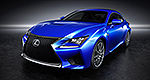 Detroit 2014: Global debut of Lexus RC F coupe