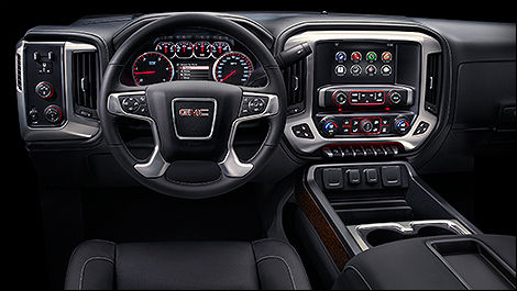 GMC Sierra HD 2015 habitacle