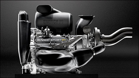 F1 Renault V6 engine
