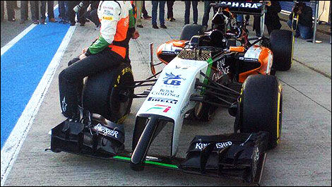 F1 Sahara Force India VJM07