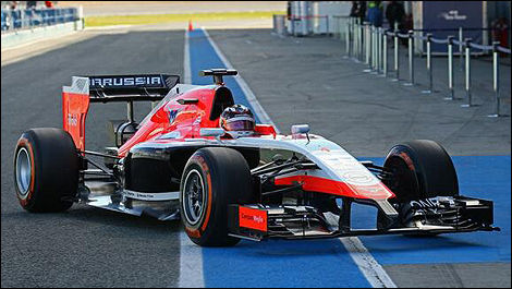 Marussia MR03 (