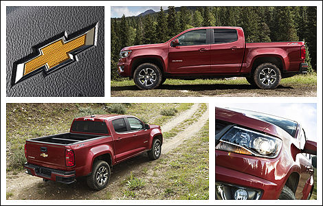 The New 2015 Chevrolet Colorado (and GMC Canyon) Will Offer Improved  Capability, More Mature Styling, And A Range Of Gas And Diesel Engines To  Suit Every ...