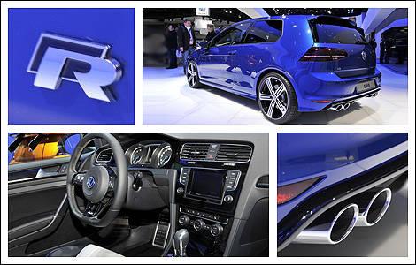 volkswagen golf r 2015 aper u actualit s automobile auto123. Black Bedroom Furniture Sets. Home Design Ideas