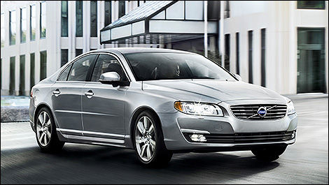 2014 Volvo S80 3/4 view