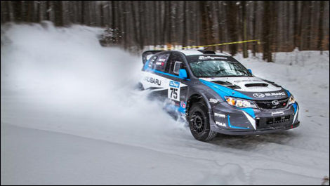 Dave Higgins, Subaru Rally Team USA