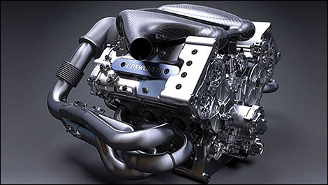 F1 Cosworth V6 engine
