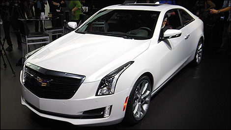 Cadillac ATS Coupe 2015 vue 3/4 avant