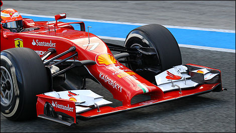 2014 F1 tests Jerez