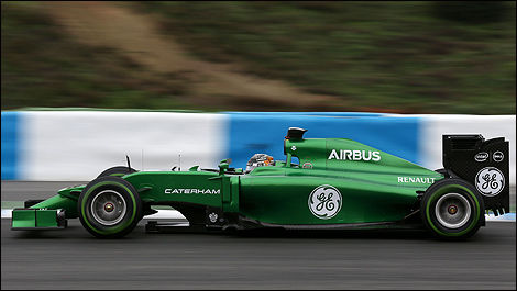 F1 Caterham CT05