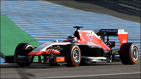 F1 Marussia MR03