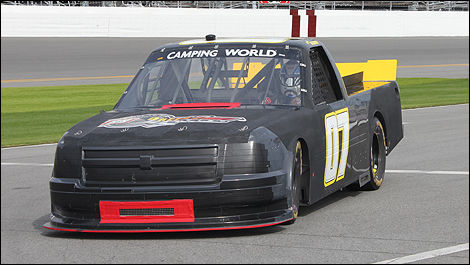 NASCAR Camping World Michel Disdier