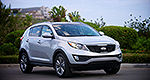 Recall on 2014 Kia Sportage in Canada