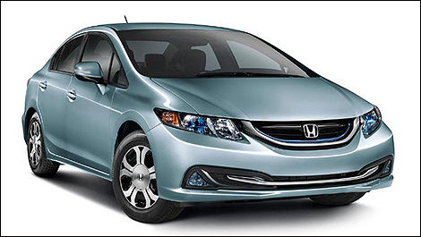 Honda Civic Hybride 2014