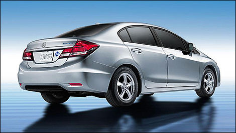 Honda Civic gaz naturel 2014