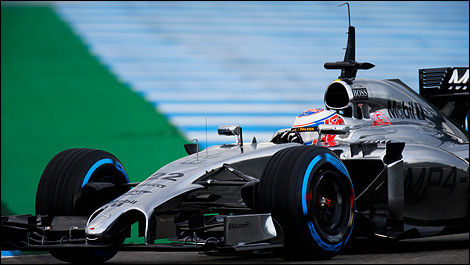 F1 2014 Jenson Button, McLaren
