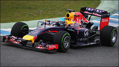 F1 2014 Sebastian Vettel, Red Bull Racing