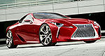 Lexus LF-LC concept to make Canadian debut in Toronto