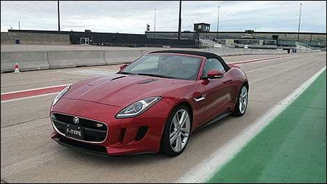 Jaguar F-Type circuit ICAR