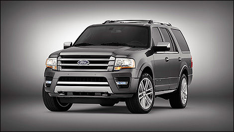 Ford Expedition 2015 vue 3/4 avant