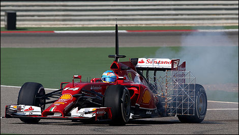 Bahrain F1 tests 2014 Fernando Alonso, Ferrari