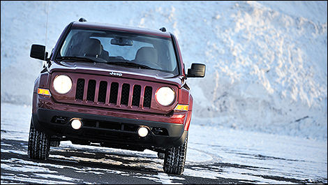 Jeep Patriot 2011 vue de face