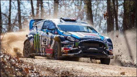 Ken Block, Ford Fiesta Rally America 100 Acre Wood