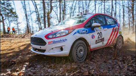 Andrew Comrie-Picard, Ford Fiesta 100 Acre Wood Rally America