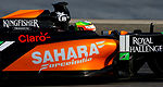 F1: Sergio Perez goes fastest in Day 1 of last test in Bahrain (+photos)