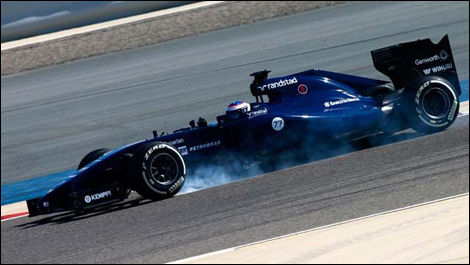 Valtteri Bottas, Williams FW36, F1 Bahrain winter testing