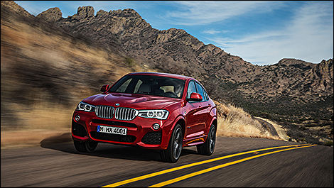 BMW X4 Sports Activity Coupe 2015
