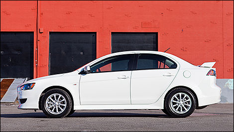 2012 Mitsubishi Lancer side view