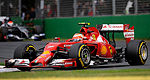 F1: Ferrari not happy with competitiveness of F14 T in Australia