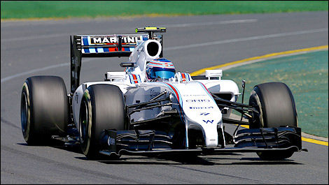 F1 Williams Mercedes Valtteri Bottas
