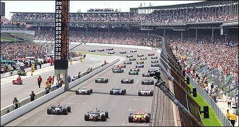 IndyCar start Indy500