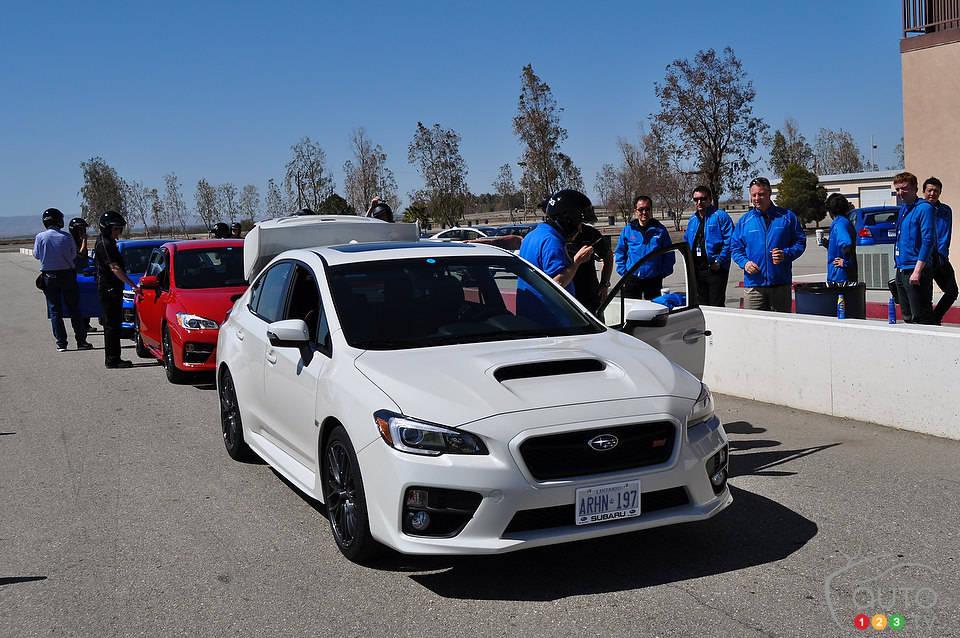 2015 Subaru WRX STI  Car Reviews  Auto123