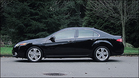 2012 Acura TSX side