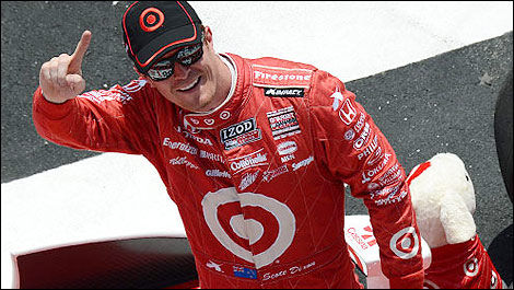 IndyCar 2013 champion Scott Dixon