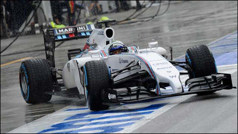 Felipe Massa, Williams FW36, Malaysian Grand Prix, F1