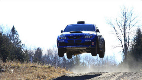 Subaru Rally Team Canada Pat Richard