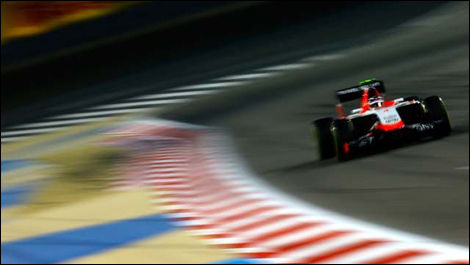 Max Chilton, Marussia MR03, Bahrain F1