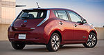 2014 Nissan LEAF Preview