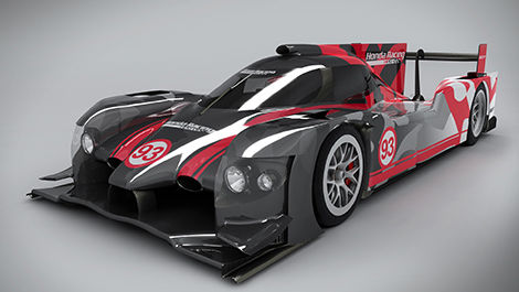 ARX-04b LMP2 Coupe Honda Racing