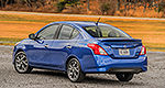 Nissan to unveil 2015 Versa Sedan in New York