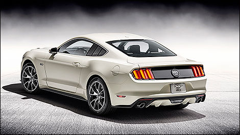 Ford Mustang spécial 50e anniversaire