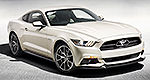 Ford reveals Mustang 50 Year Limited Edition