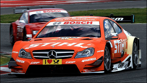 DTM Mercedes Robert Wickens