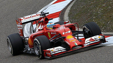 F1 Ferrari F14 T China Fernando Alonso