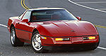Mercury Marine museum features this 1990 Corvette ZR-1