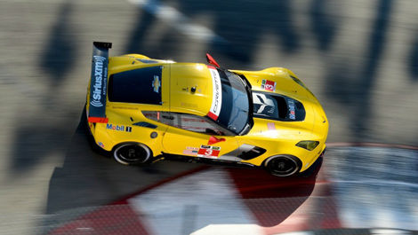 Jan Magnussen, Corvette C7.R Long Beach USCC