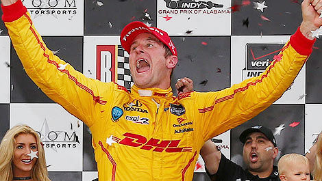 IndyCar Ryan Hunter-Reay Barber